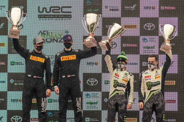 ACI Rally Monza: SKODA ends 2020 world championship season with WRC3 double victory