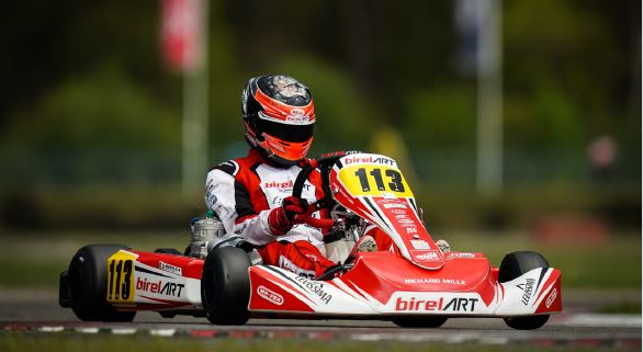 Birel ART: Strong competitiveness thwarted by a series of setbacks in Genk