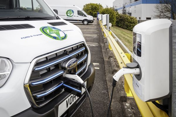 Ford Announces European Customer Trials Programme for the New All-Electric E-Transit Van