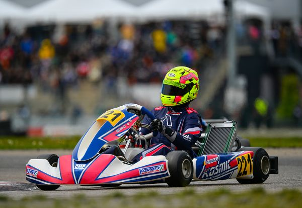 Kosmic Kart - win and third European position in Genk