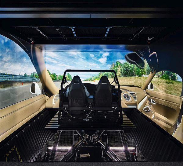 Porsche uses both virtual development and physical endurance tests