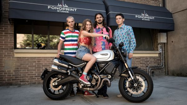 The first episode of Scrambler Ducati Live is online