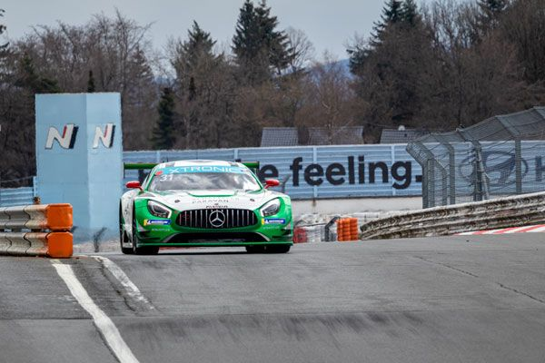 First Mercedes-AMG GT3 with Space Drive in endurance test at ADAC Total 24h Nürburgring