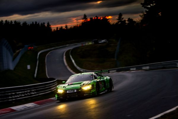 Phoenix-Audi takes provisional pole position in 24h Nürburgring qualifying race
