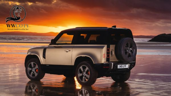 Land Rover Defender crowned Supreme Winner Women's World Car of the Year 2021