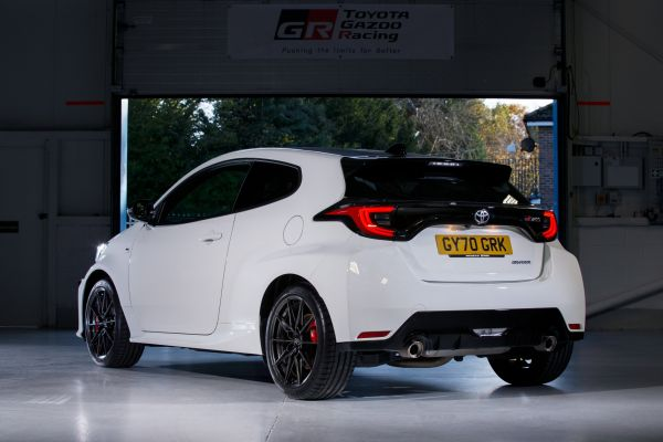 Toyota GR Yaris powers to UK Car of the Year 2021 glory