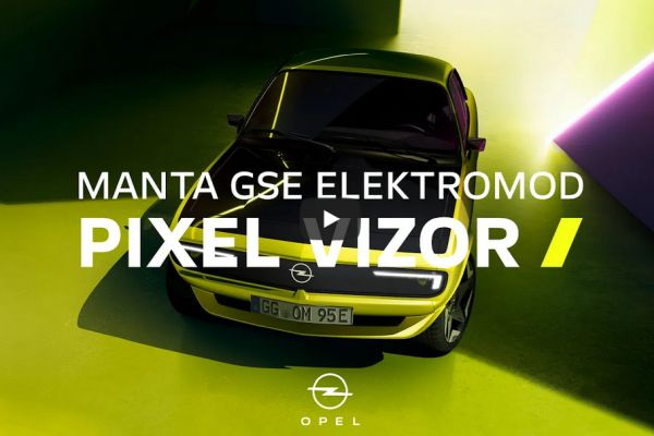 New Opel Manta GSe ElektroMOD Shows Beaming Smile, with video