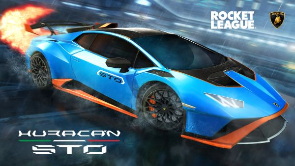 Lamborghini debuts in the Rocket League video game with the Huracán STO