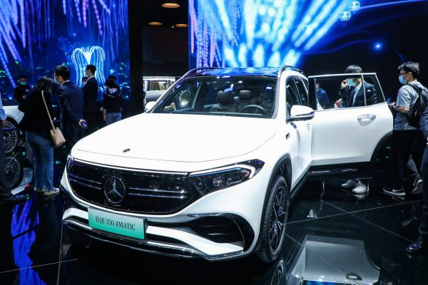 Two Mercedes-Benz world premieres at Auto Shanghai 2021