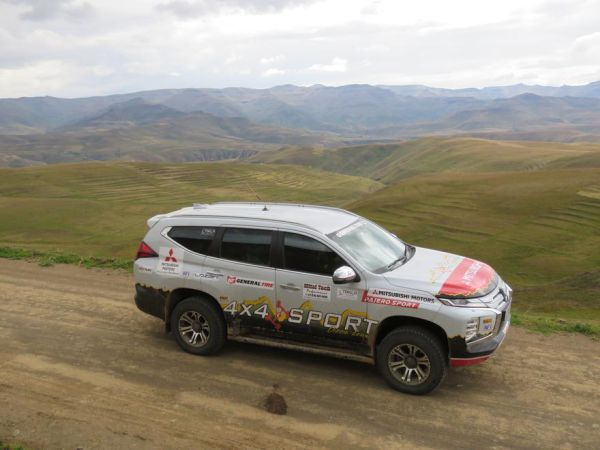 Mitsubishi Pajero Sport conquers the Witteberg Mountains