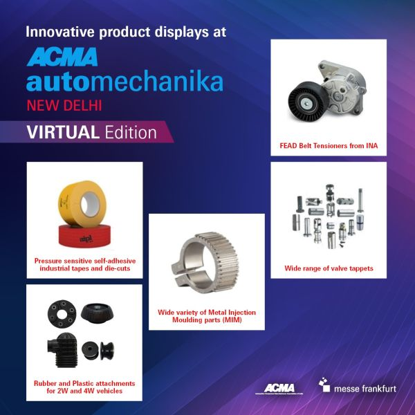 ACMA Automechanika to showcase array of aftermarket products at its maiden virtual edition