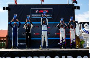 Jr III Racing Claims First IMSA Prototype Challenge Podium at Mid-Ohio