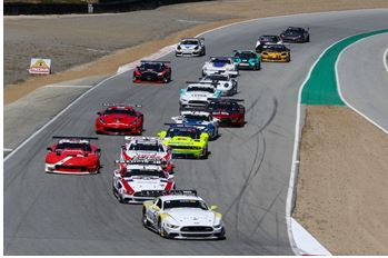 Dramatic Finish in Trans Am Gives Tomy Drissi the Win at WeatherTech Raceway Laguna Seca