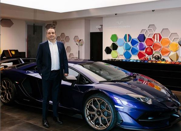 Federico Foschini takes on the new role of Lamborghini Chief Marketing & Sales Officer
