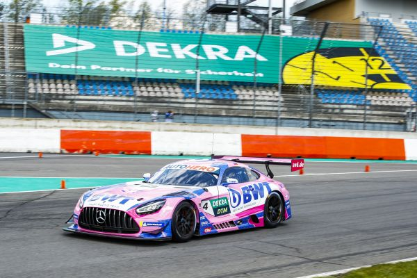 DTM test at Lausitz: Götz, Albon and Lawson setting the pace