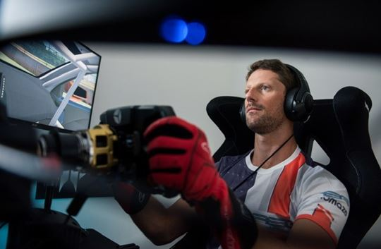 Romain Grosjean's R8G Esports to Manage Uralkali Haas F1 Team Esports