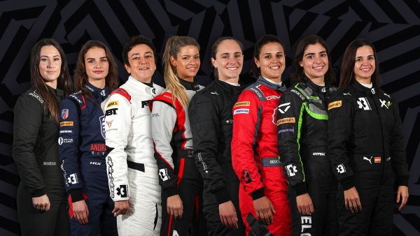 World-first gender equal motorsport series champions female drivers