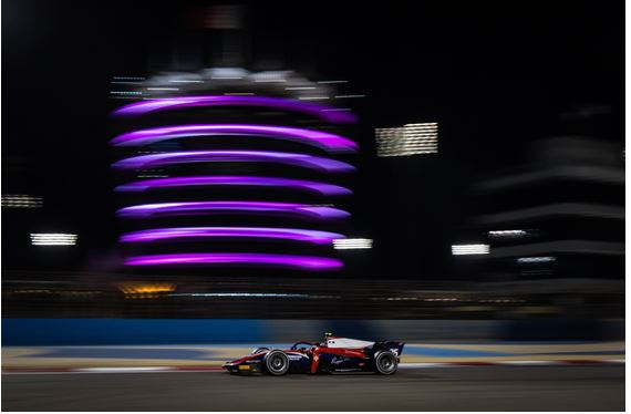 Trident scored its first points at FIA F2 race start in Bahrain