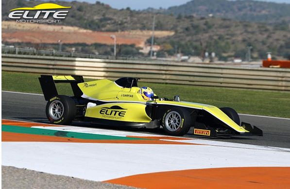 Mexico's Garfias heads to Europe for Elite Motorsport F3 campaign