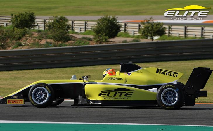 Promising Spaniard competes for Elite Motorsport in BRDC British F3 Championship
