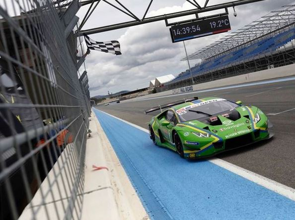 Lamborghini kicks off International GT Open season with victory and points lead