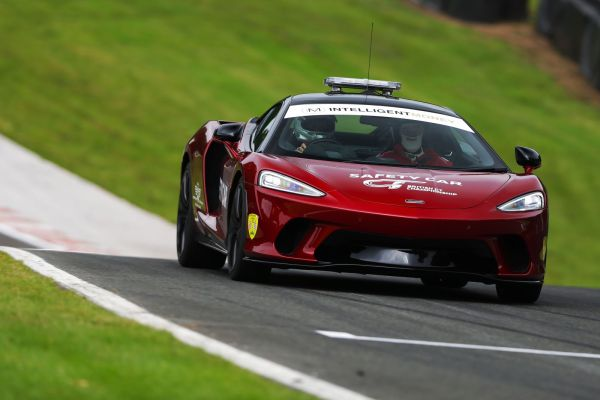 McLaren extends Intelligent Money British GT Championship Safety Car partnership
