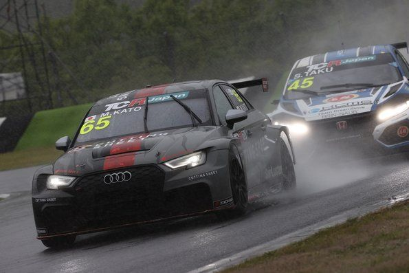 Audi third place in TCR Japan at Autopolis