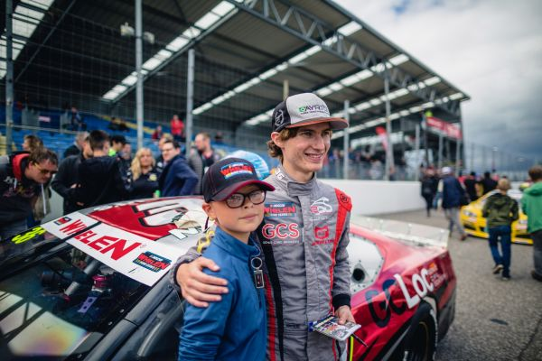 Ulysse Delsaux ready to return to the track with RDV Competition in Nascar Whelen Euro Series