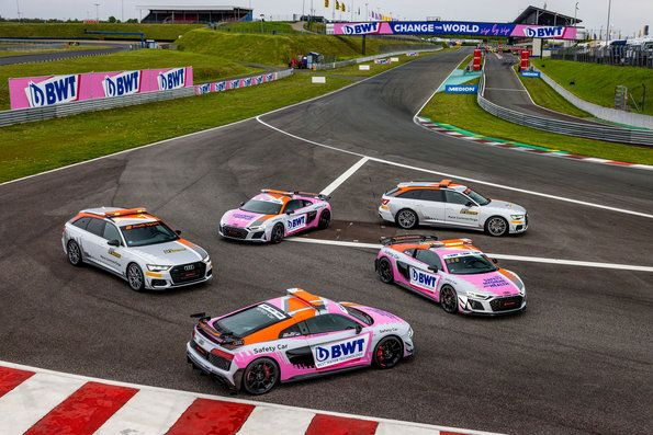 Audi ADAC GT Masters Safety Cars in a new design