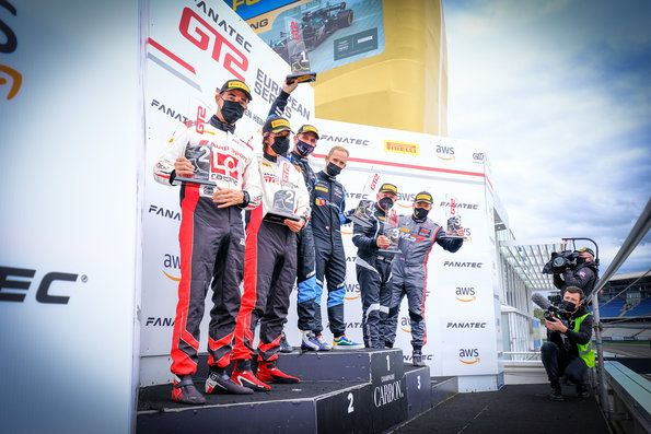 Two Audi GT2 victories at Hockenheim