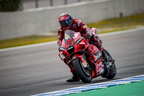 Day of post-race testing concluded for the Ducati Lenovo Team at Jerez de la Frontera