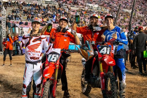 Jett Lawrence Wins 250SX East/West Showdown in Salt Lake City