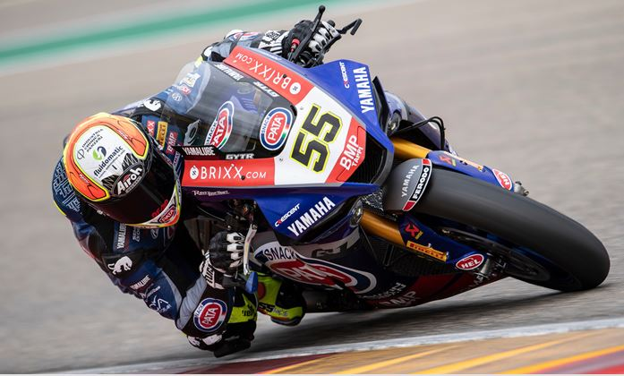 Locatelli Continues Preparations for 2021 Yamaha WorldSBK Debut