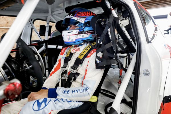 Robert Wickens is a racing driver once again, in a TCR car