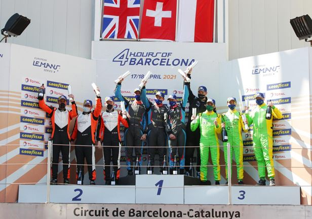 Cool Racing takes first LMP3 win in 4 Hours of Barcelona