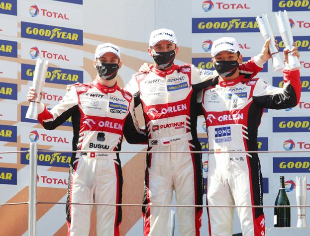 Orlen Team WRT Victorious in 4 Hours of Barcelona - replay