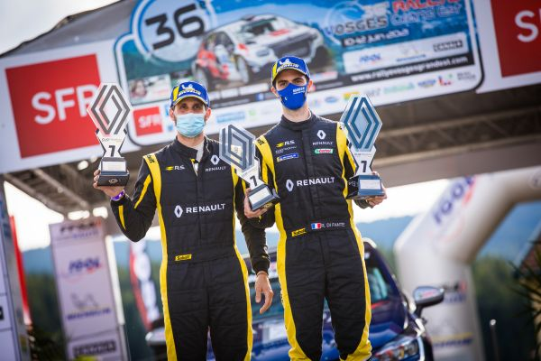 Romain Di Fante wins and takes points lead in the Vosges