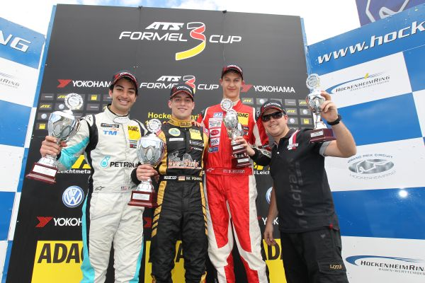 Markus Pommer wins half-time title in ATS Formula 3 Cup