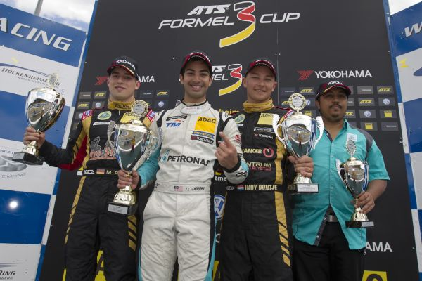 First lights-to-flag victory for Nabil Jeffri at Hockenheimring