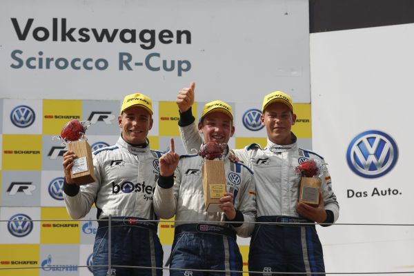Drama in Spielberg: Brit Smiley celebrates his first Scirocco R-Cup win