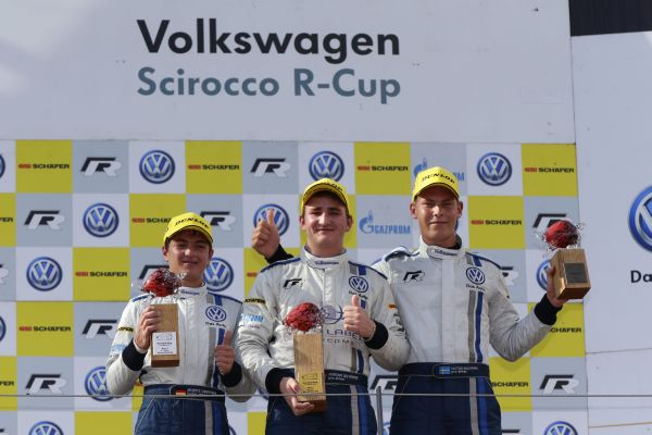 Fourth win of the season in the Scirocco R-Cup: Pepper gives himself a belated birthday present