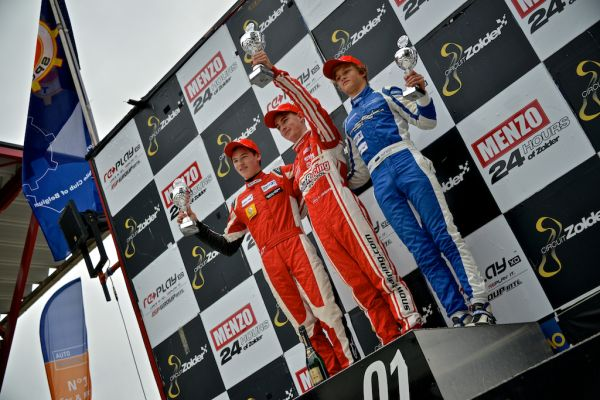 Maiden win for Florian Janits in the Formula Renault 1.6 NEC Junior Race 1 at Zolder