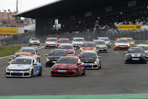 VW Scirocco R-Cup: Title up for grabs as the Nürburgring hosts the highlight of the season