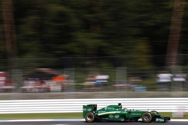 Caterham F1 Team Hockenheim qualifying review
