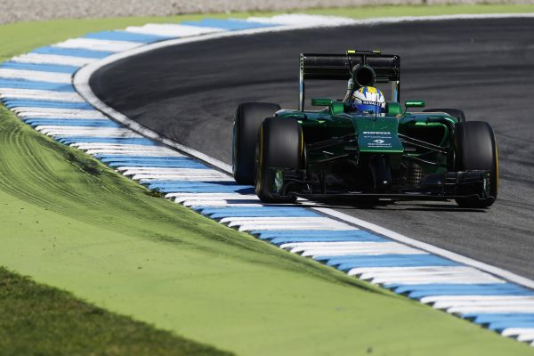 Caterham F1 Team German GP practices review