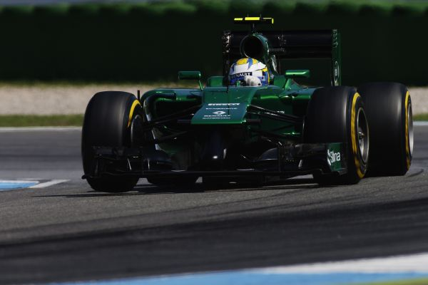 Caterham F1 Team German GP review