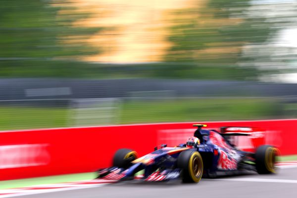 Scuderia Toro Rosso F1 German GP practices