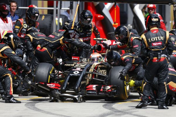 Lotus F1 Team German GP review