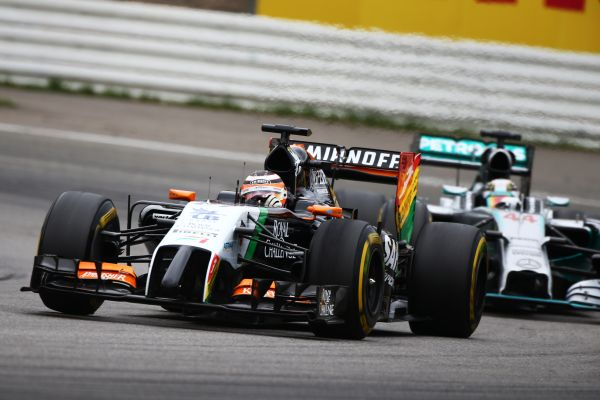 Sahara Force India F1 German GP race review