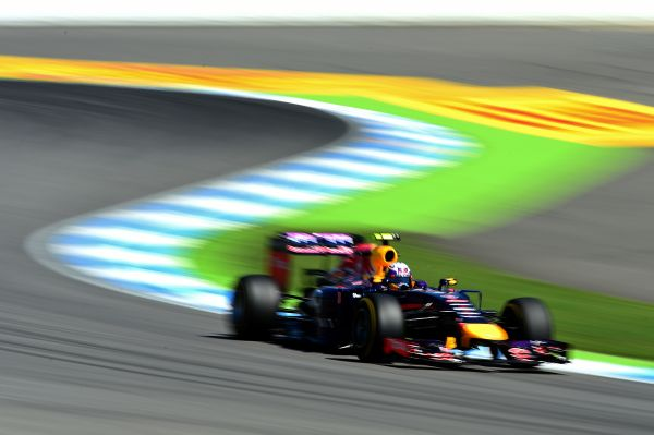 Infiniti Red Bull Racing F1 German GP practices